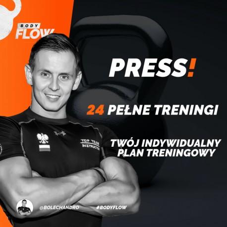 Plan treningowy PRESS